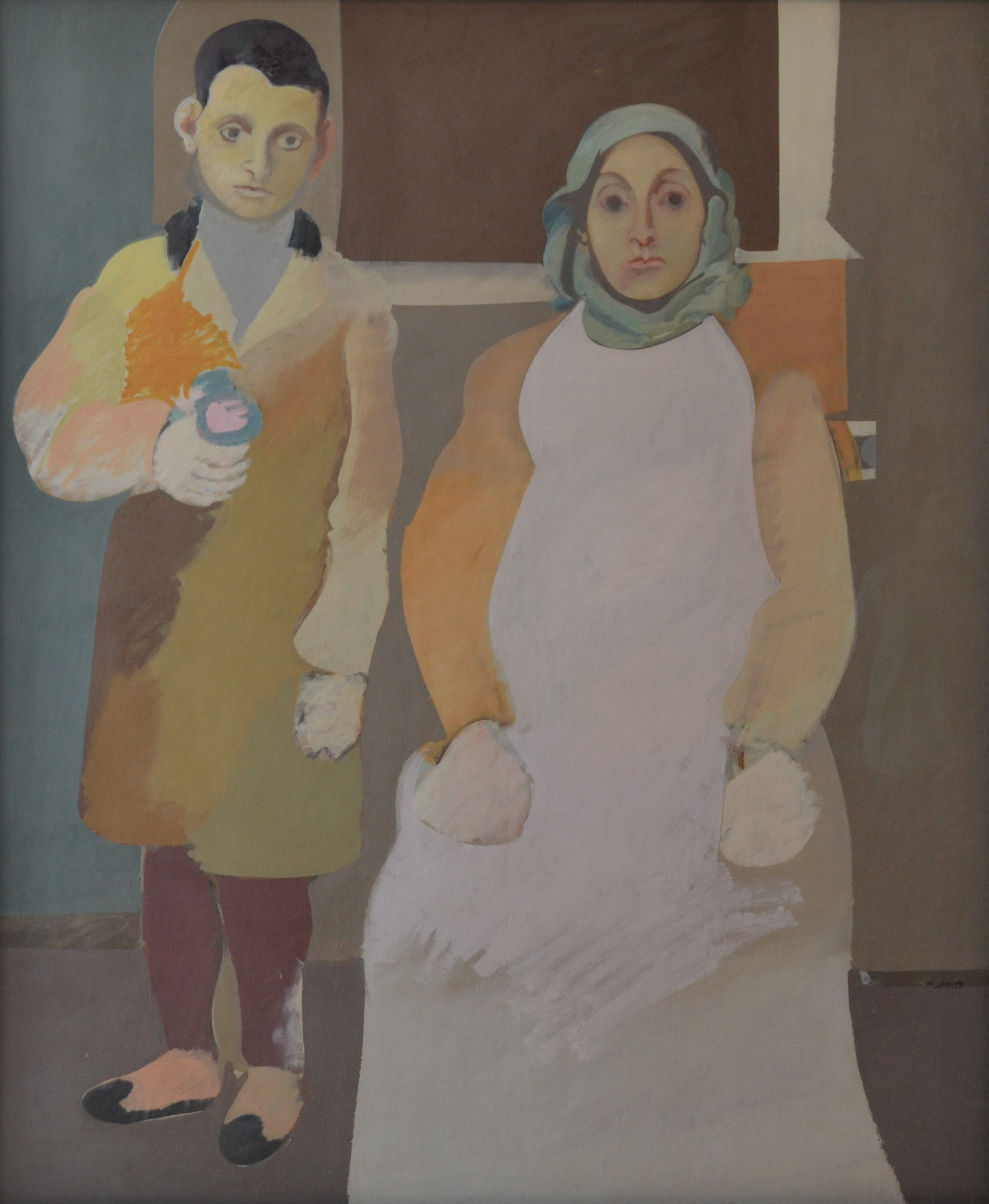 Arshile Gorky - The Artist and His Mother