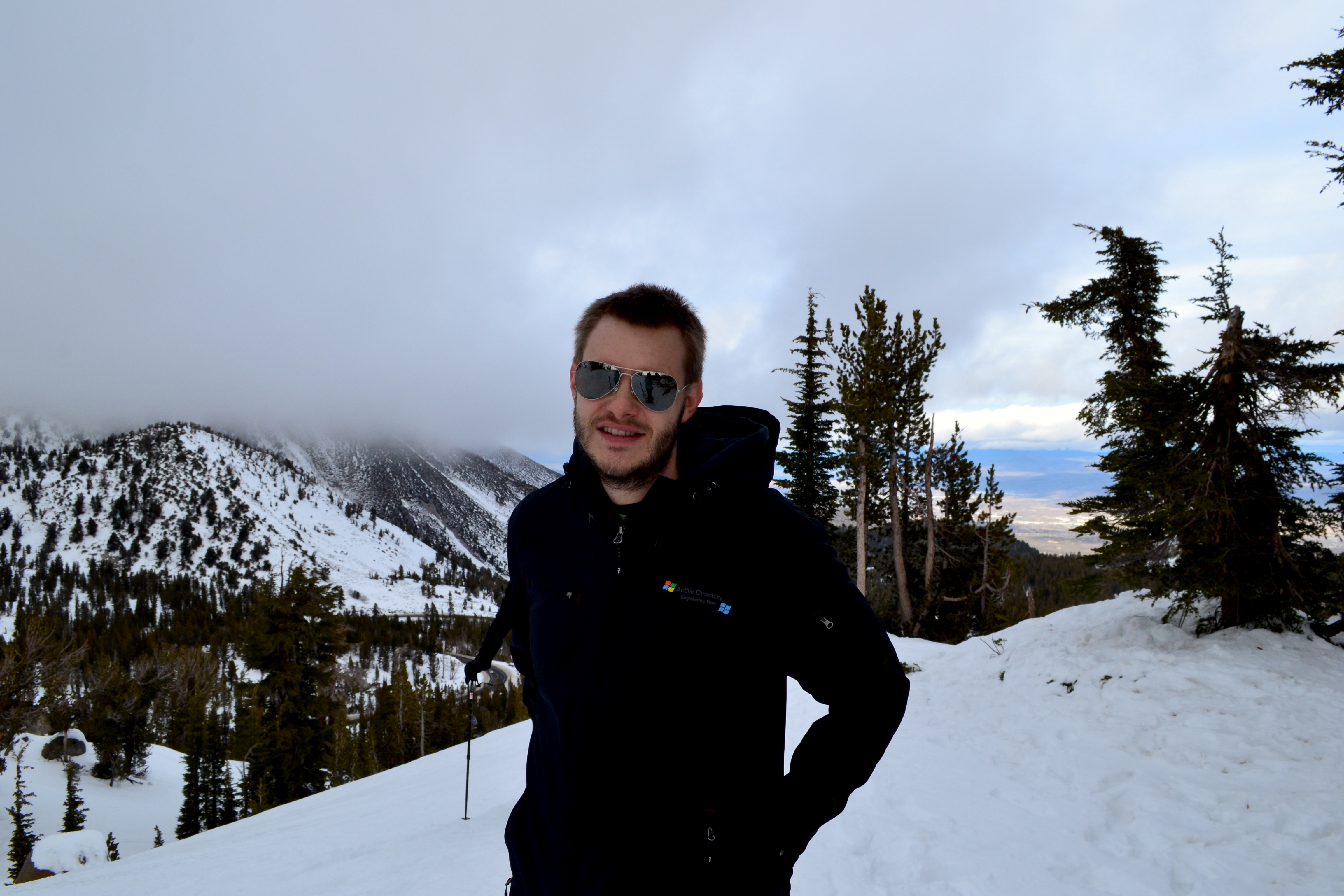 Rob at Mt Rose