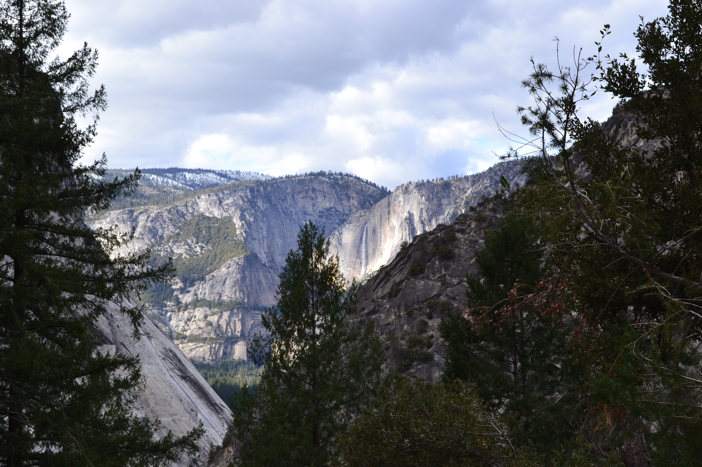 View from the Nevada Falls Trail