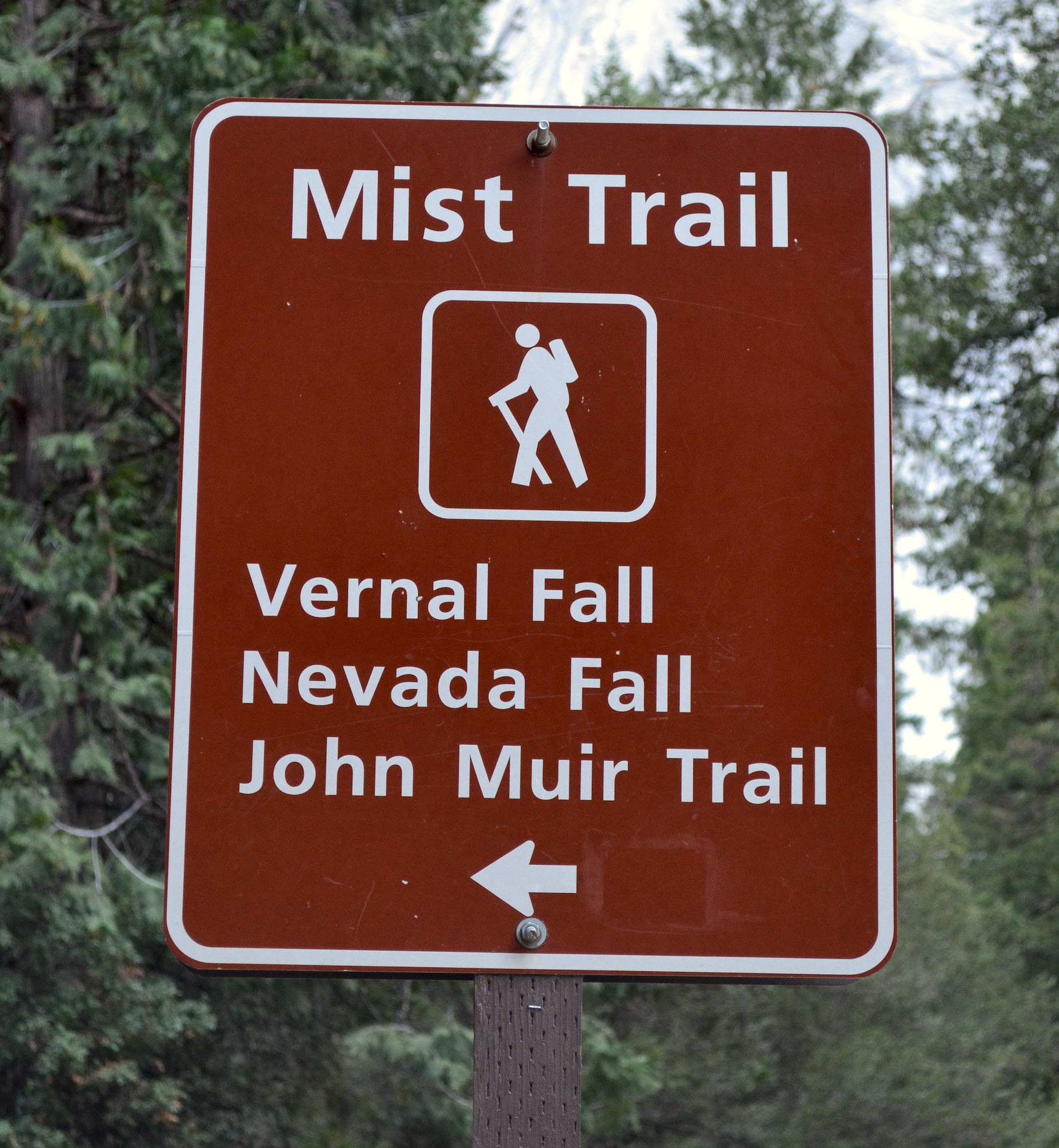 Trails from John Muir Trail-head carpark