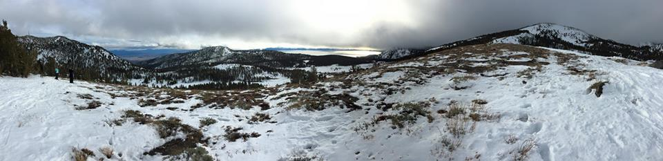 Rob's pano from Mt Rose