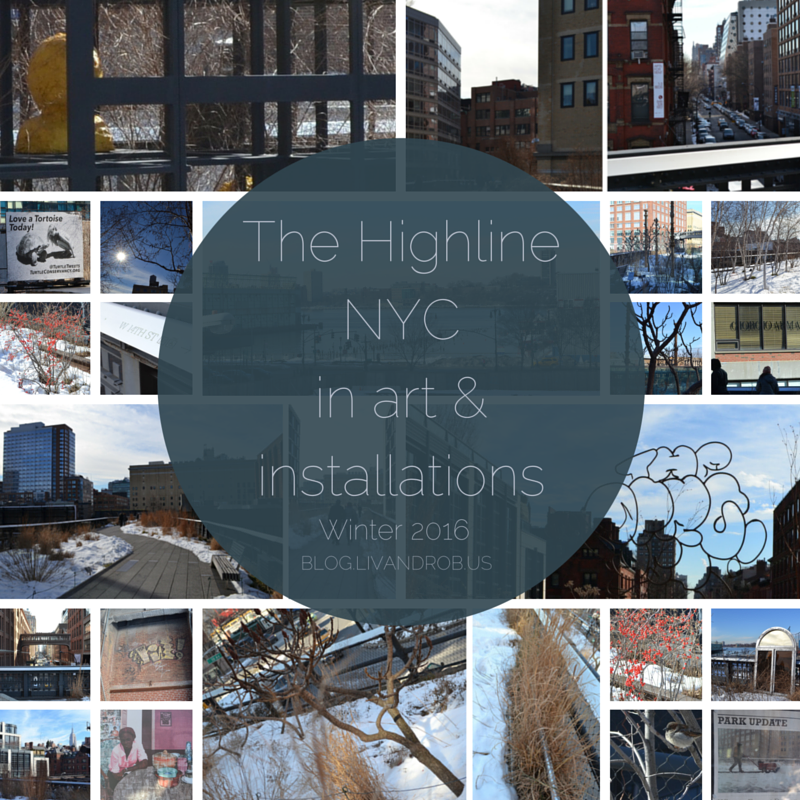 The Highline NYC in art & installations: Winter 2016