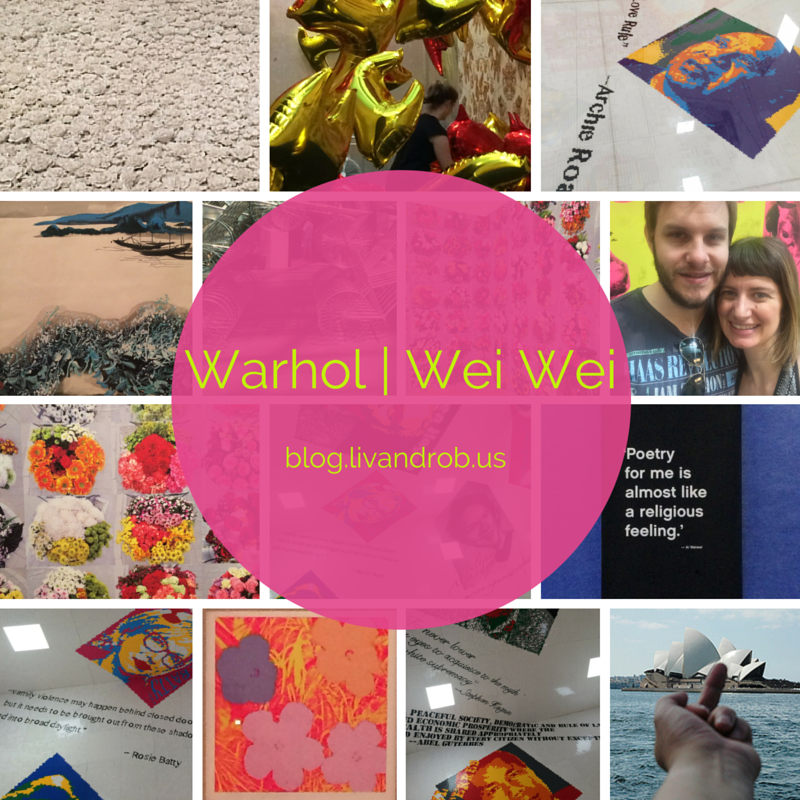 Warhol & Wei Wei at the NGV