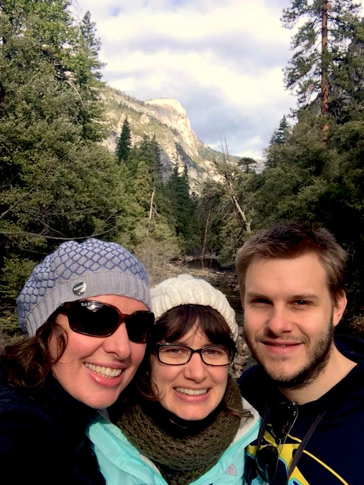Yosemite + 3 Aussies